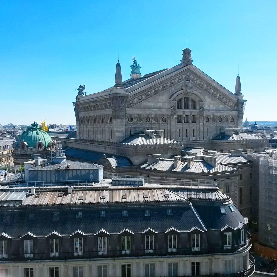 vue opéra paris galeries lafayette